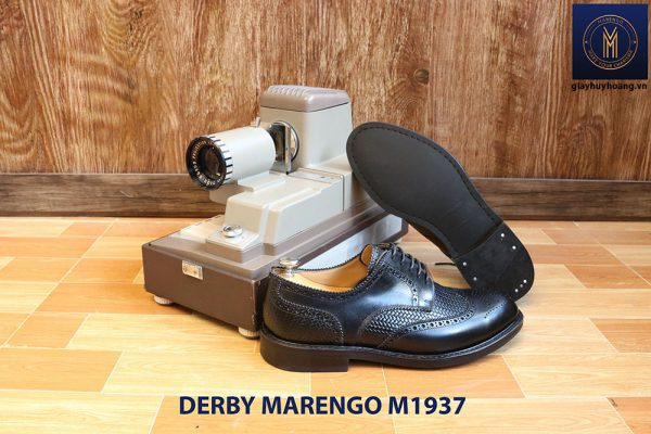 Giày da nam buộc dây Derby Marengo M1937 005