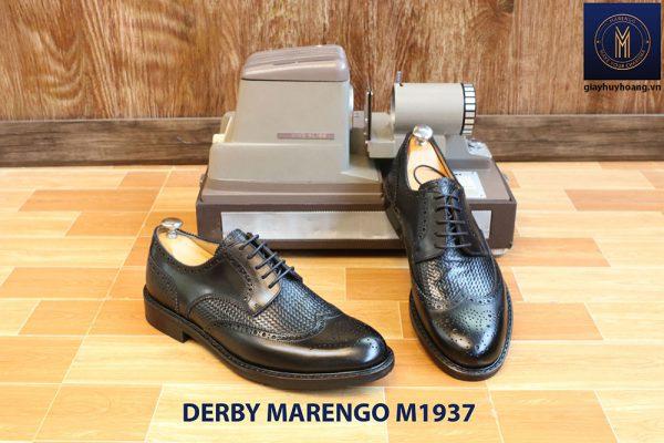 Giày da nam buộc dây Derby Marengo M1937 001