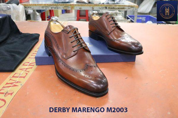 Giày tây nam da bò Derby Marengo M2003 007
