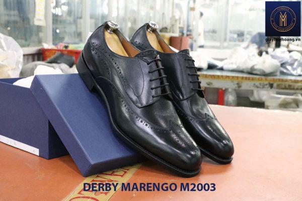 Giày tây nam da bò Derby Marengo M2003 006
