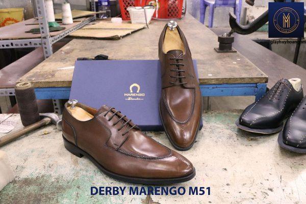 Giày da nam buộc dây Derby Marengo M51 004