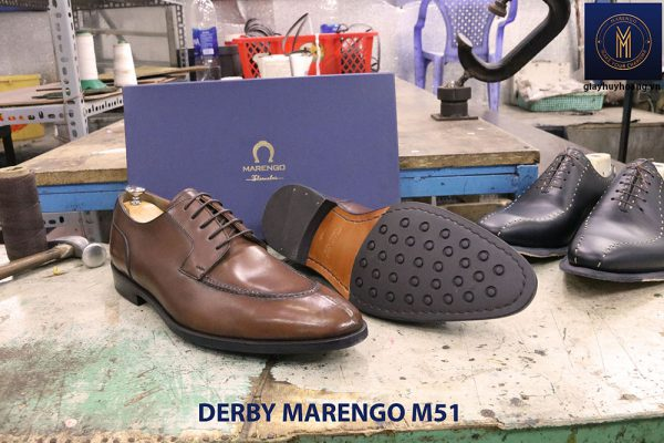 Giày da nam buộc dây Derby Marengo M51 002