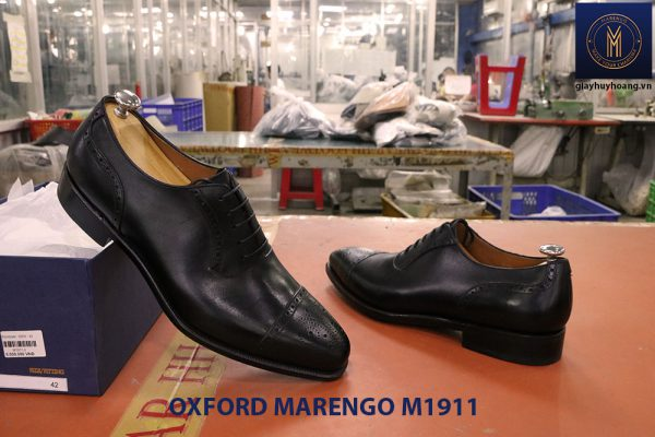 Giày tây nam đế da Oxford Marengo M1911 005