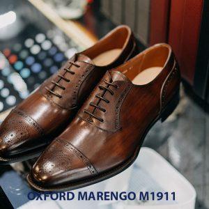 Giày tây nam đế da Oxford Marengo M1911 001