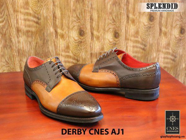 [Outlet] Giày da nam cao cấp Derby CNES AJ1 size 43 005