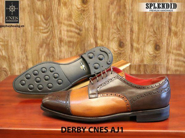 [Outlet] Giày da nam cao cấp Derby CNES AJ1 size 43 003