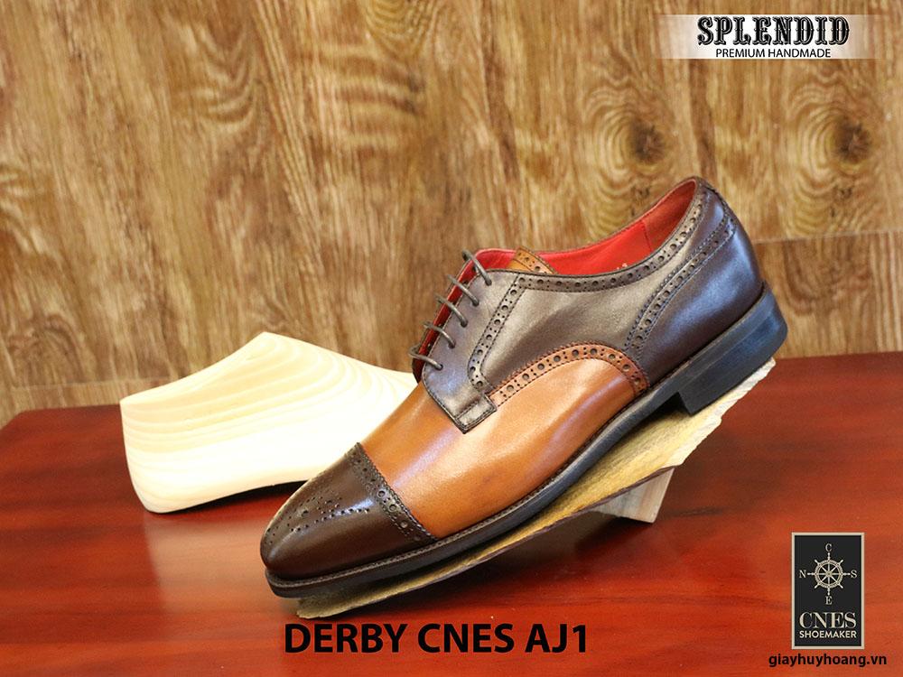 [Outlet] Giày da nam cao cấp Derby CNES AJ1 size 43 001