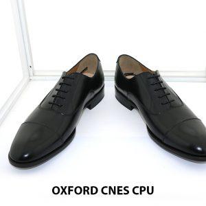 Giày da nam da bê đẹp Oxford CNES CPU 002