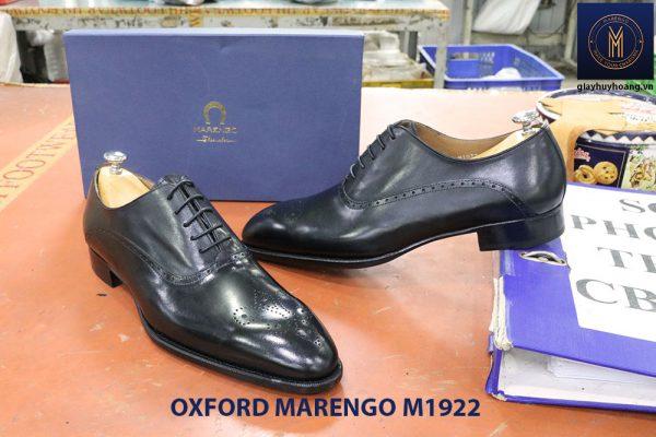 Giày tây nam da bê ý Oxford Marengo M1922 005