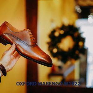 Giày tây nam da bê ý Oxford Marengo M1922 002