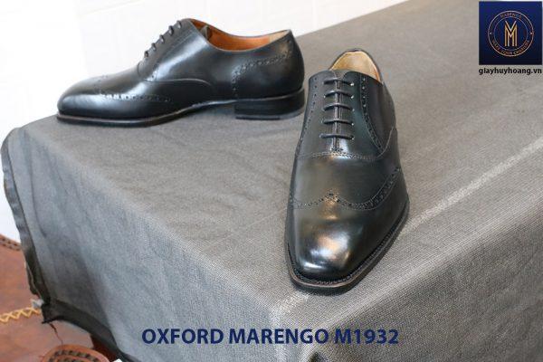 Giày da nam mũi vuông Oxford Wingtip Marengo M1932 005