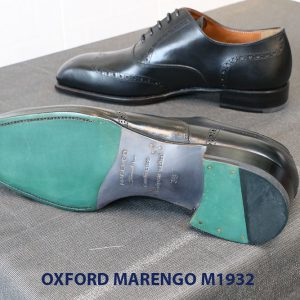 Giày da nam mũi vuông Oxford Wingtip Marengo M1932 004