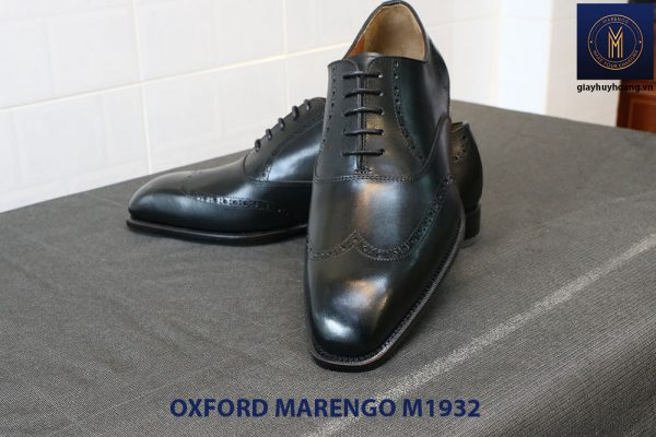 Giày da nam mũi vuông Oxford Wingtip Marengo M1932 003