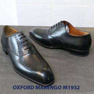 Giày da nam mũi vuông Oxford Wingtip Marengo M1932 001