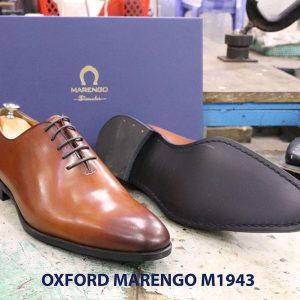 Giày tây nam da trơn Oxford wholecut Marengo M1943 003