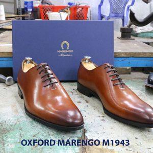 Giày tây nam da trơn Oxford wholecut Marengo M1943 001