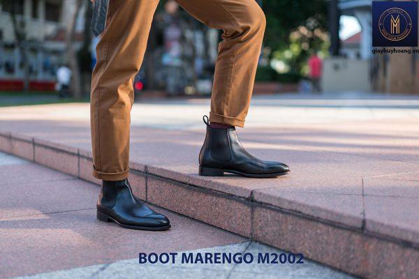 Giày Chelsea Boot Marengo M2002 da bò nam 001