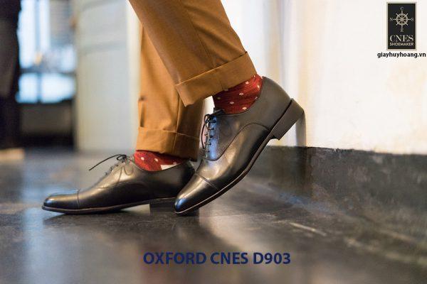 Giày tây nam cột dây đẹp Oxford CNES Oxford 005