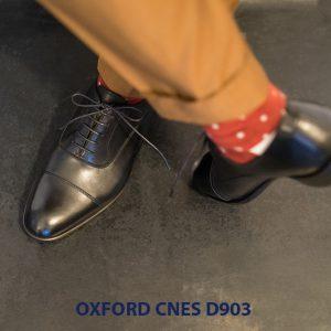 Giày tây nam cột dây đẹp Oxford CNES Oxford 004