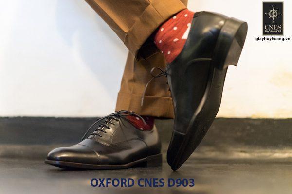 Giày tây nam cột dây đẹp Oxford CNES Oxford 003