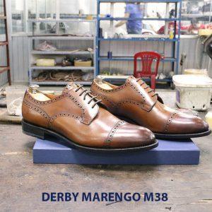 Bán giày tây nam da bò Derby marengo M38 002