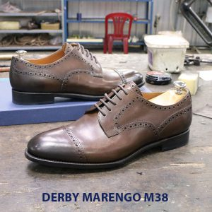 Bán giày tây nam da bò Derby marengo M38 005