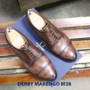 Bán giày tây nam da bò Derby marengo M38 001