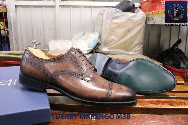 Bán giày tây nam da bò Derby marengo M38 006