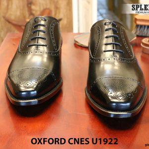 Giày nam mũi vuông Oxford Brogues CNES U1922 size 43 007