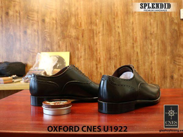 Giày nam mũi vuông Oxford Brogues CNES U1922 size 43 006