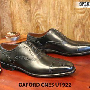 Giày nam mũi vuông Oxford Brogues CNES U1922 size 43 002