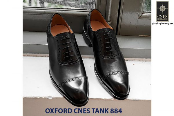 Giày tây nam da bò Oxford CNES U1108 001