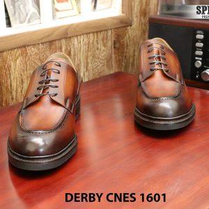 Giày da Derby buộc dây CNES 1601 size 46 005