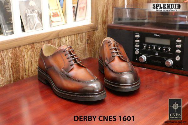 Giày da Derby buộc dây CNES 1601 size 46 001