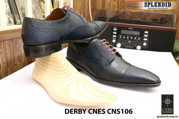 Giày cột dây Derby CNES CNS106 size 47 003