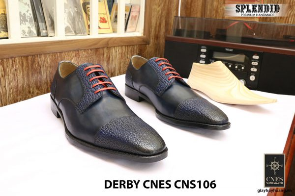 Giày cột dây Derby CNES CNS106 size 47 001