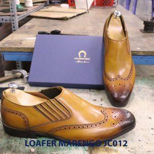 Giày không dây cho nam loafer Marengo JC012 002