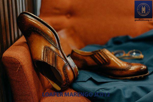 Giày không dây cho nam loafer Marengo JC012 003