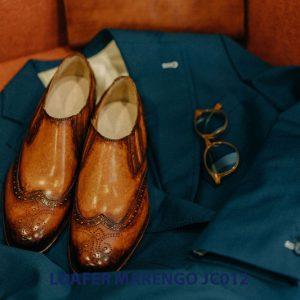Giày không dây cho nam loafer Marengo JC012 001