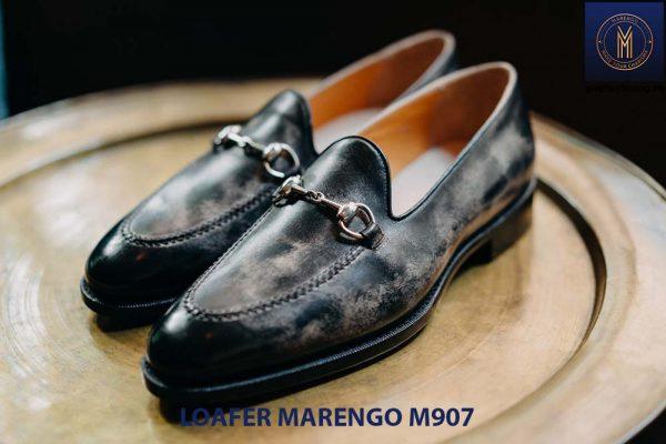 Giày tây lười nam Loafer Marengo M1907 001