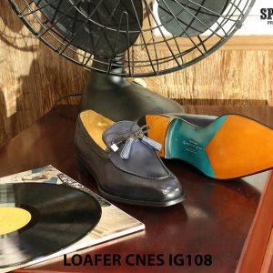 Giày lười nam da bò Loafer CNES IG108 Size 42 006
