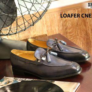 Giày lười nam da bò Loafer CNES IG108 Size 42 005