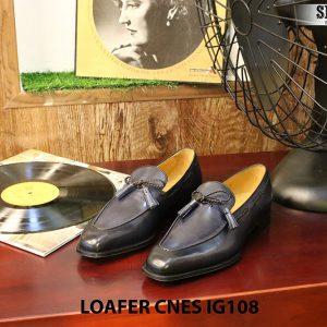 Giày lười nam da bò Loafer CNES IG108 Size 42 001
