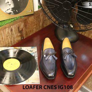 Giày lười nam da bò Loafer CNES IG108 Size 42 004