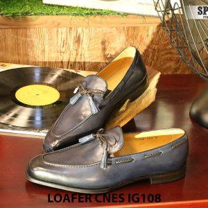 Giày lười nam da bò Loafer CNES IG108 Size 42 003