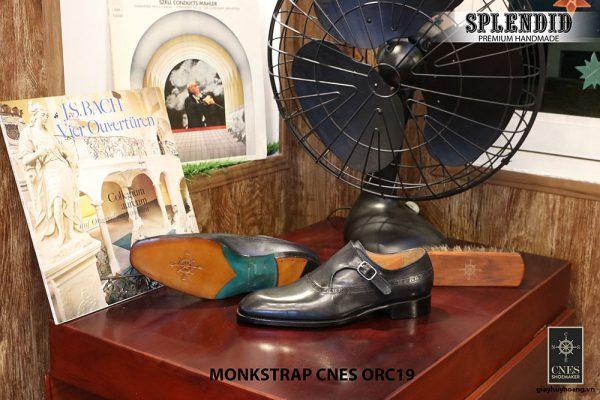 [Outlet] Giày da nam đẹp Oxford CNES ORC19 size 40 005