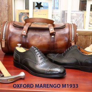 Giày tây nam brogues Oxford Wingtip Marengo M1933 003