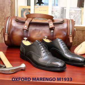 Giày tây nam brogues Oxford Wingtip Marengo M1933 001