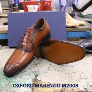 Giày da nam phong cách Oxford Marengo M2008 006