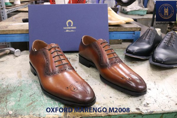 Giày da nam phong cách Oxford Marengo M2008 005